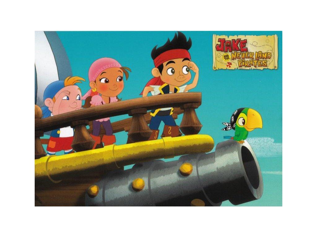 Pohlednice Jake a piráti 2