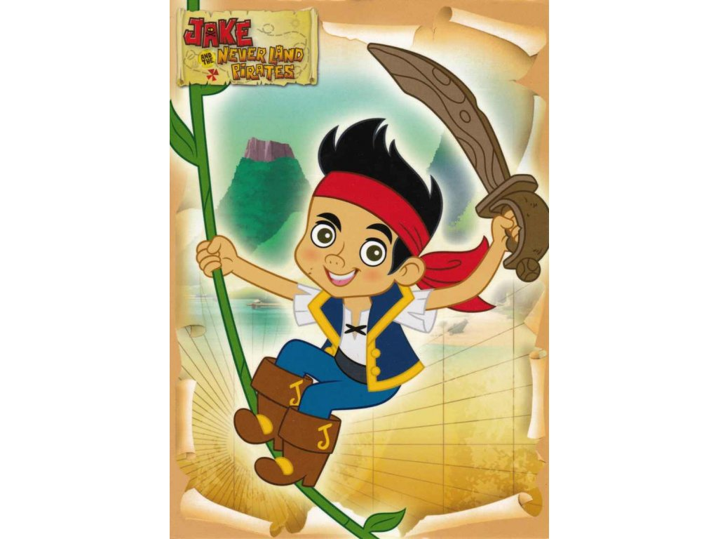 Pohlednice Jake a piráti 4