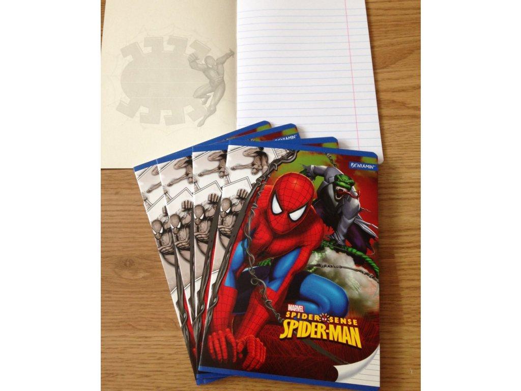 Sešit Spider-Man