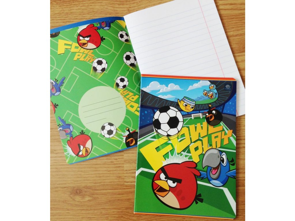 Sešit Angry Birds 3
