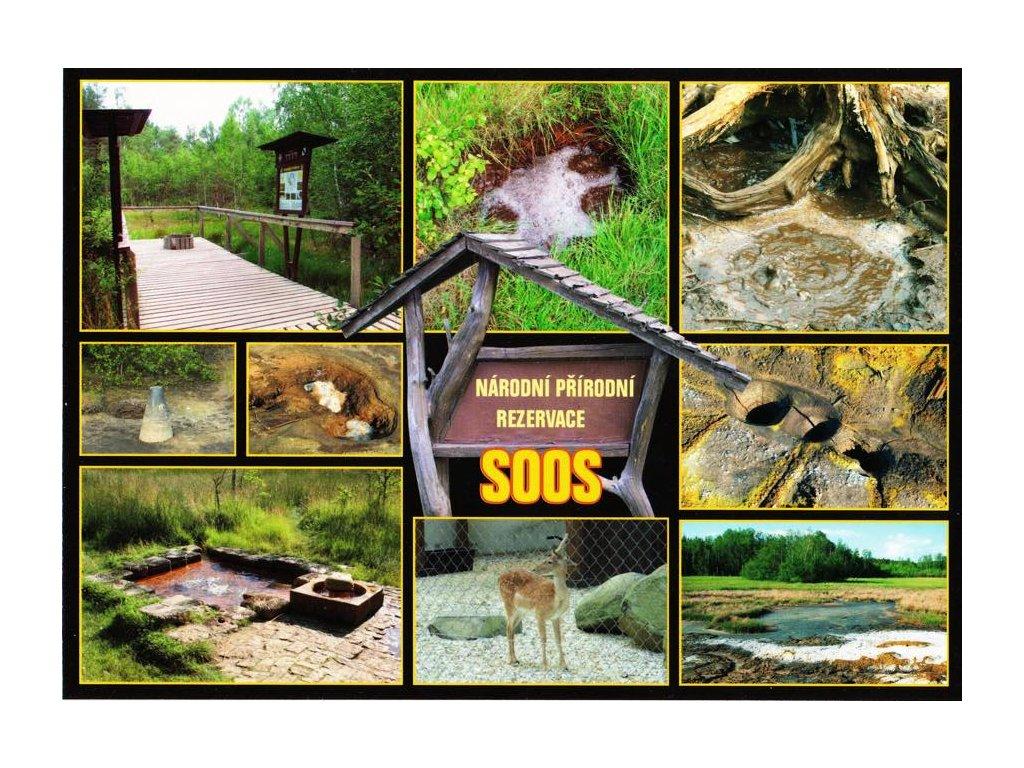 Pohlednice SOOS - přírodní rezervace 6