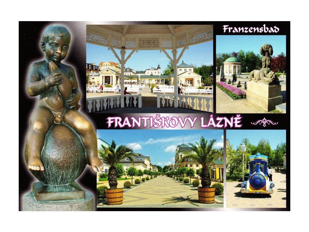 Pohlednice Františkovy Lázně 1