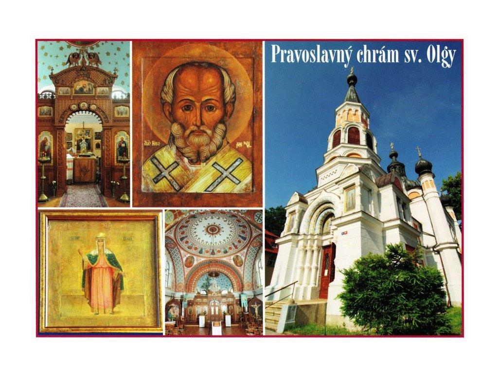 Pohlednice Pravoslavný chrám sv. Olgy