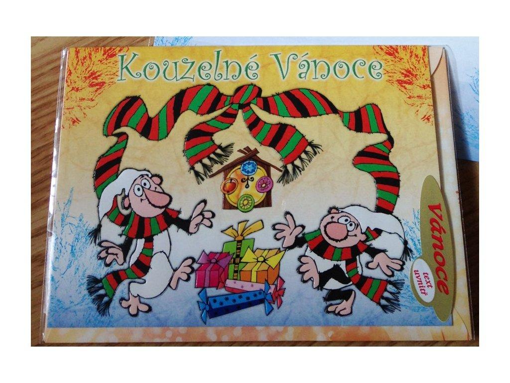 Vánoční přání Křemílek a Vochomůrka