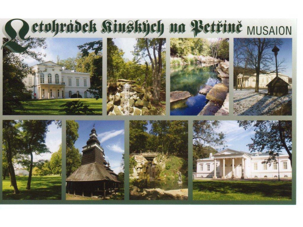 Pohlednice Letohrádek Kinských