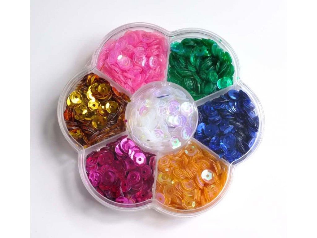 Flitry MIX barev v krabičce