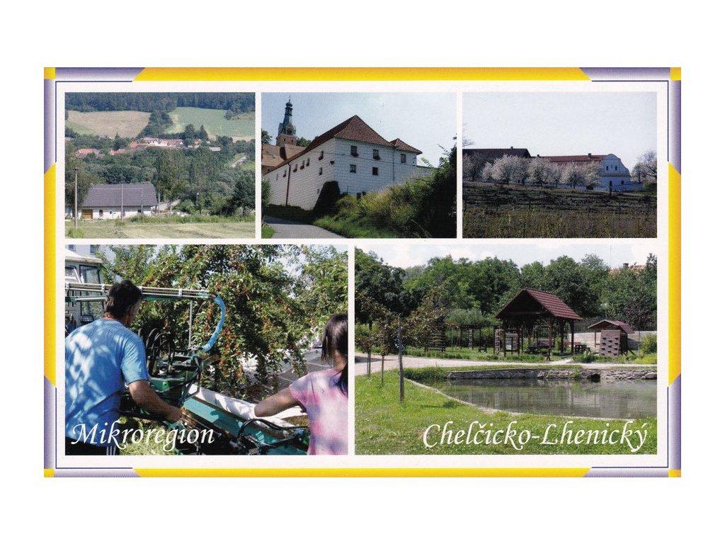 Pohlednice Mikroregion Chelčicko-Lhenický