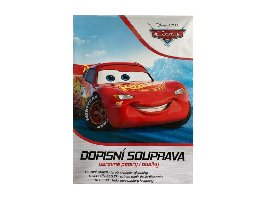 Dopisní papír Cars (Auta)