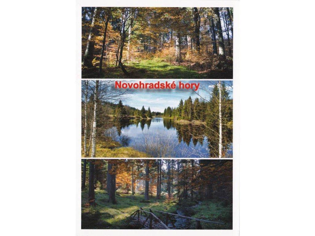 Pohlednice Novohradské hory