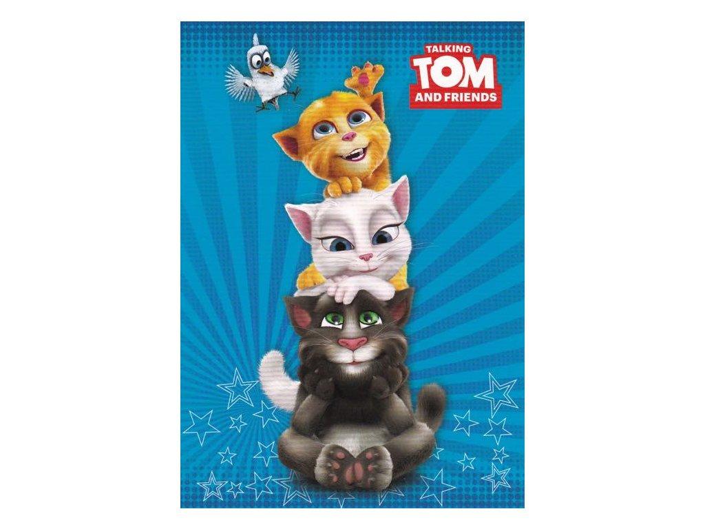 Pohlednice Tom a přátelé