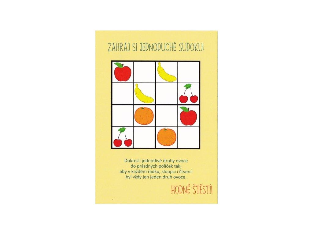 Pohlednice Sudoku