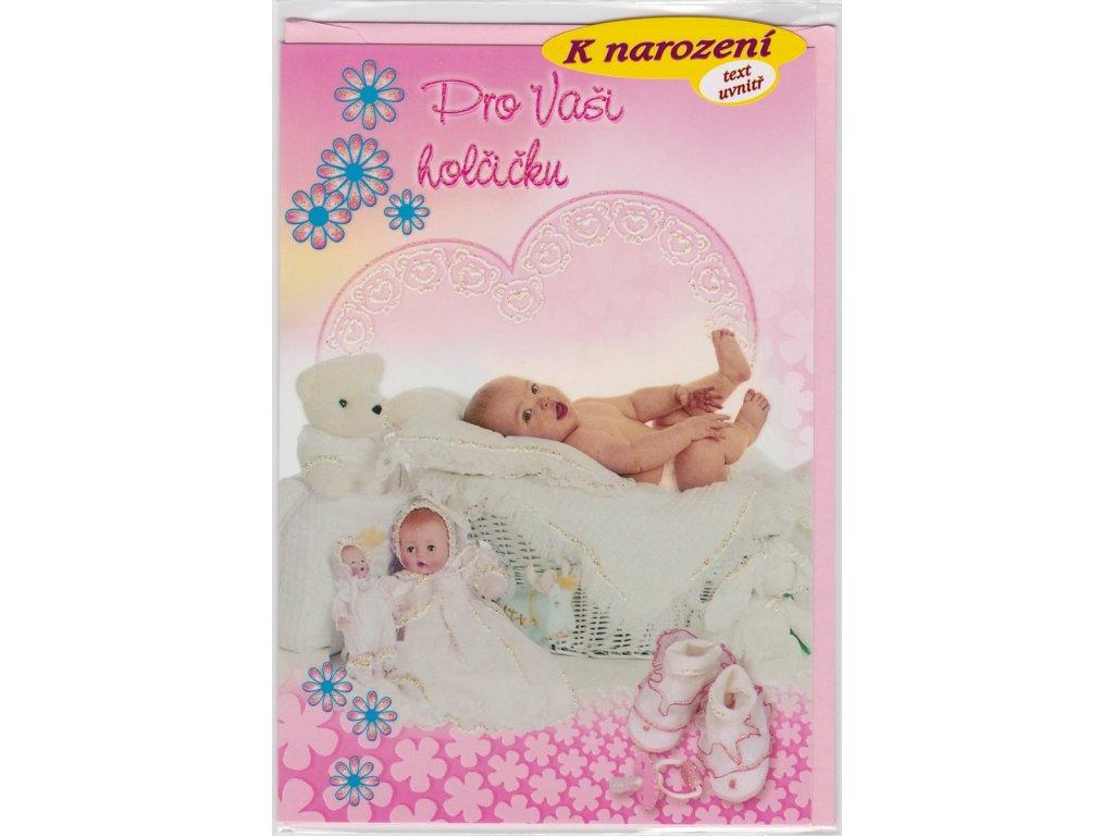 Blahopřání k narození holčičky