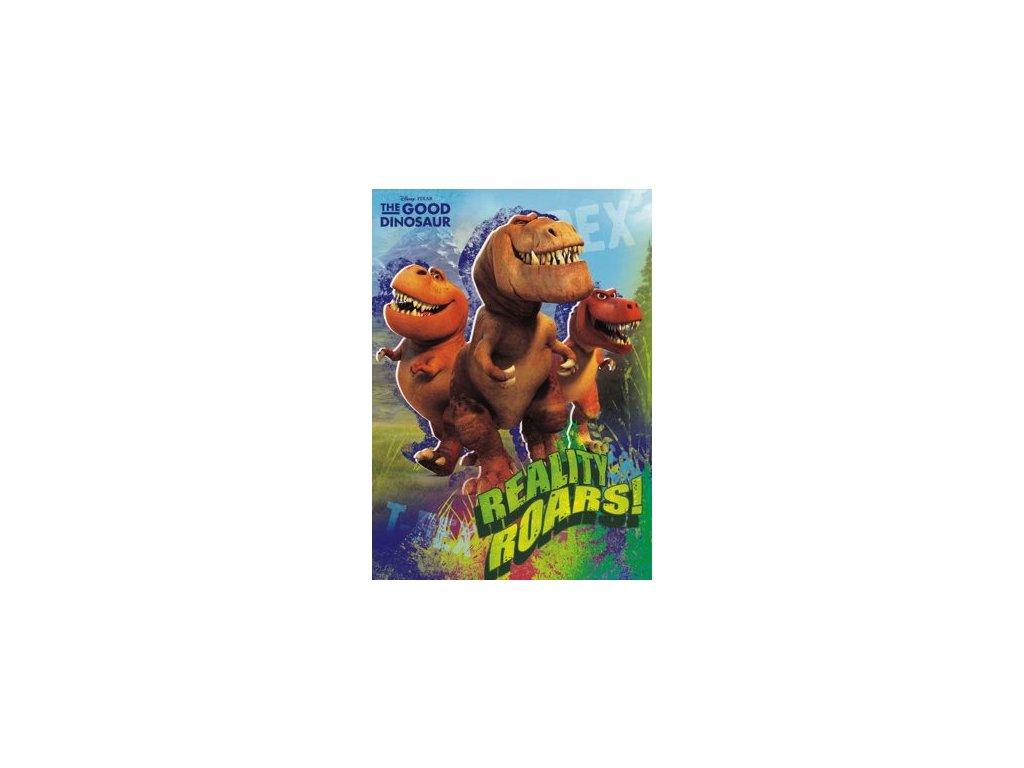 Pohlednice Hodný Dinosaurus