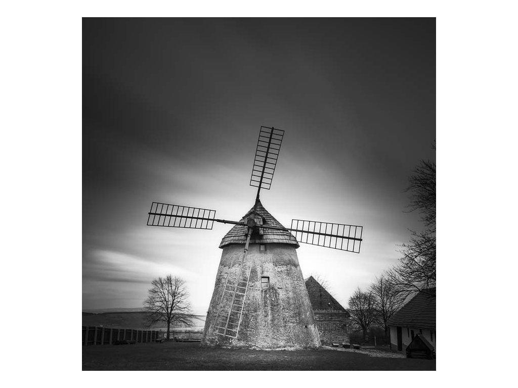 Pohlednice Větrný mlýn v Kuželově
