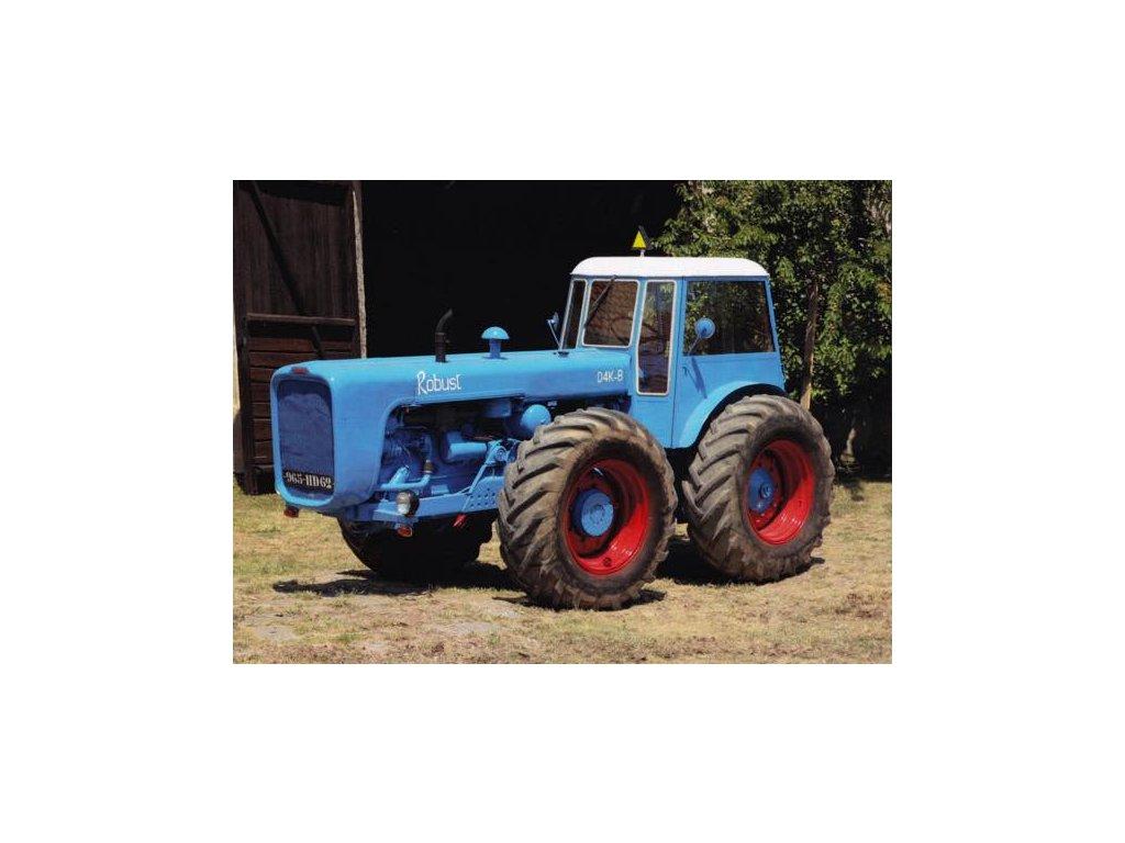 Pohlednice Traktor DK4-B Dutra