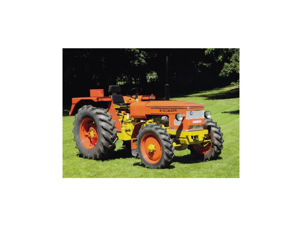 Pohlednice Traktor Zetor 5745