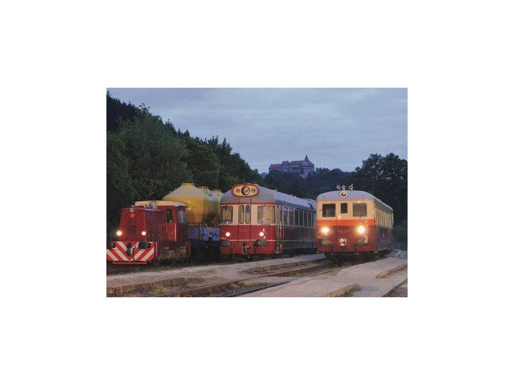 Pohlednice Vlaky