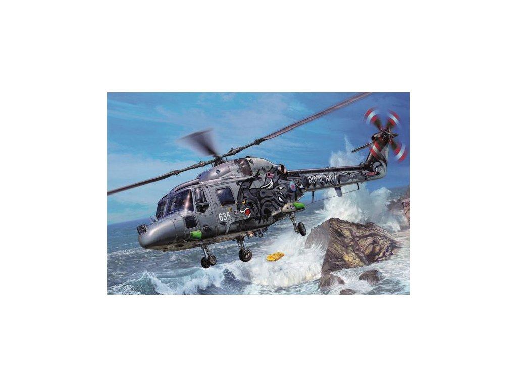 Pohlednice Vrtulník WESTLAND LYNX