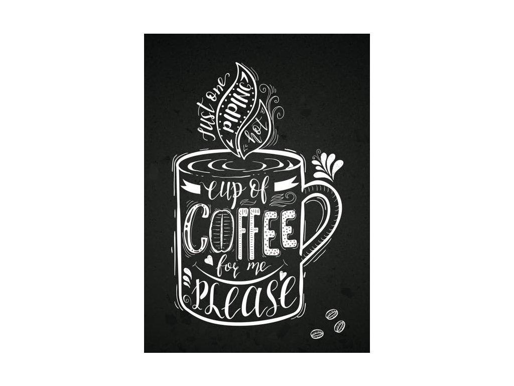 Pohlednice Káva pro mě
