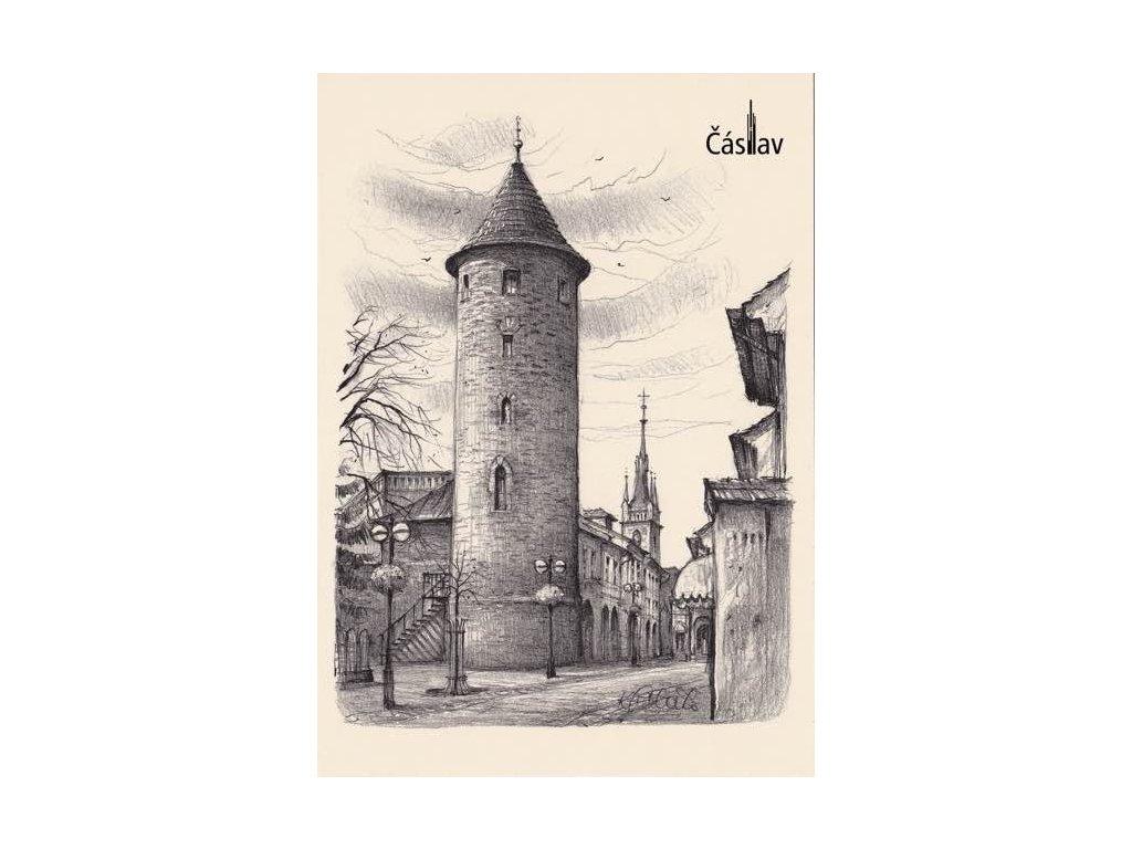 Pohlednice Čáslav