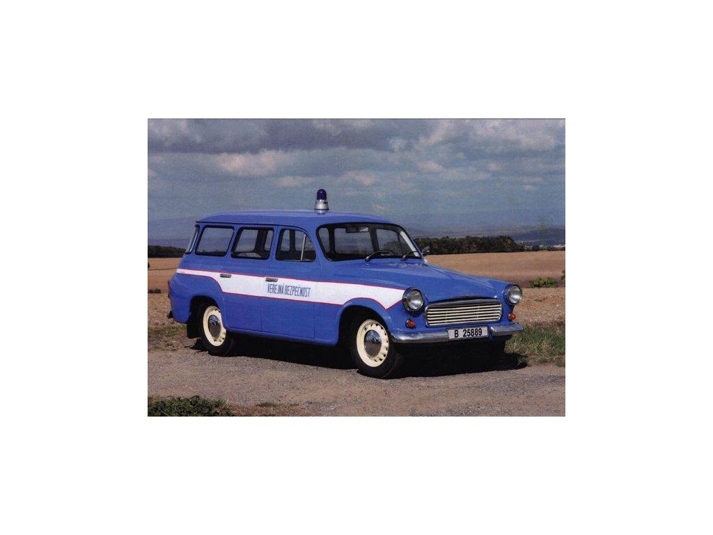 Pohlednice Automobil Škoda 1202