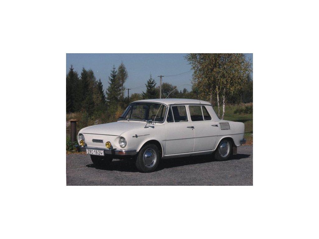 Pohlednice Automobil Škoda 100