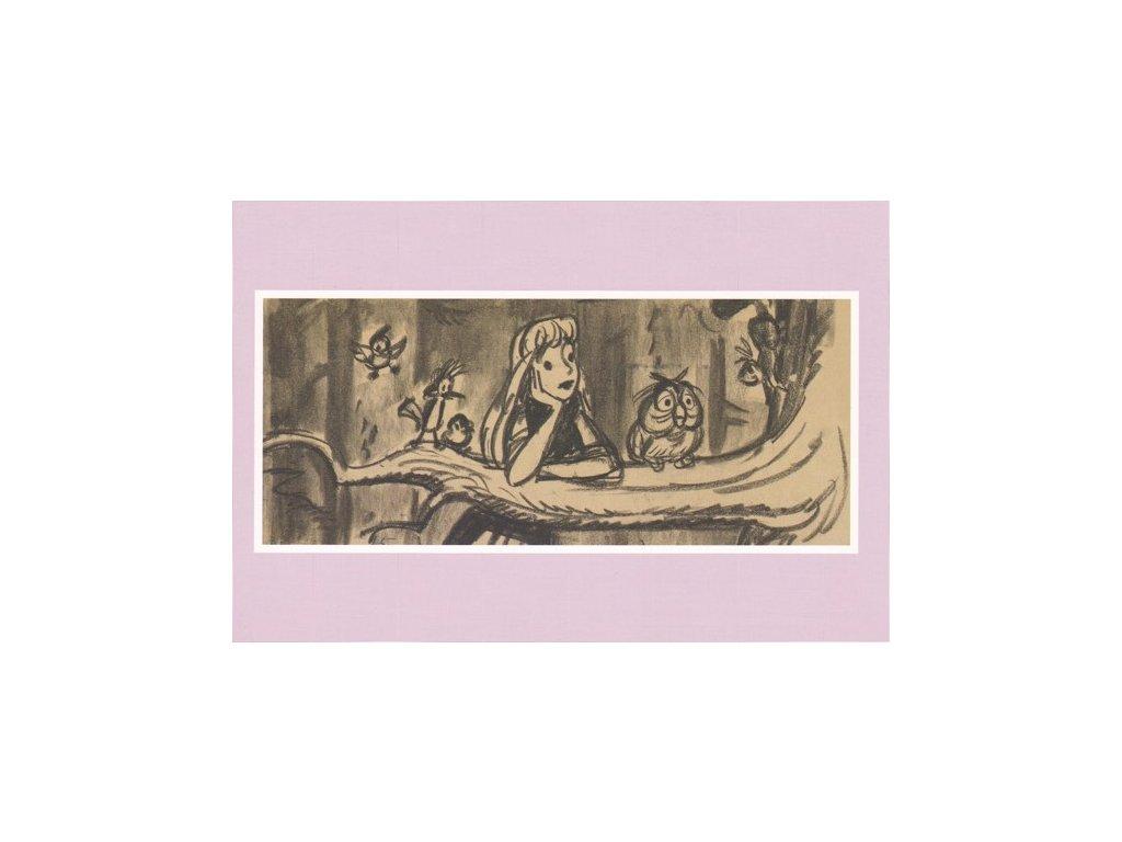 Pohlednice Šípková Růženka 1