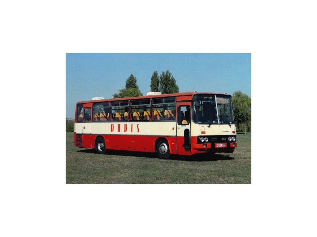 Pohlednice Autobus Ikarus