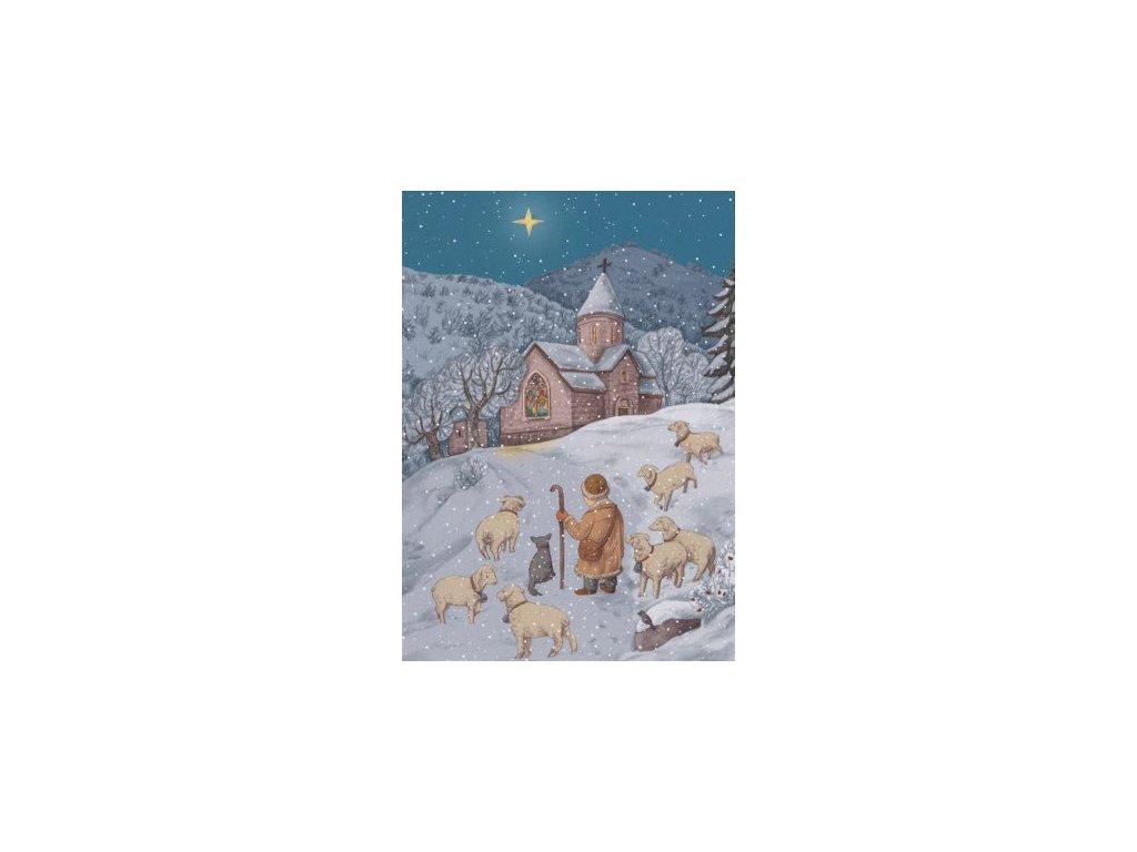 Pohlednice Vánoční 4