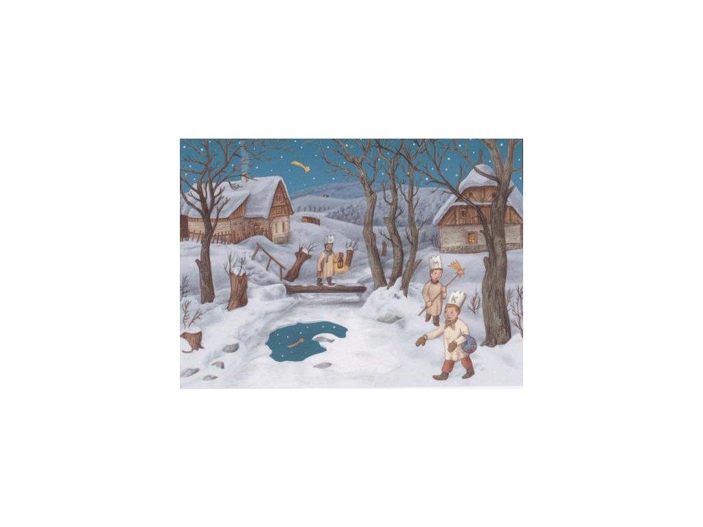 Pohlednice Vánoční 8