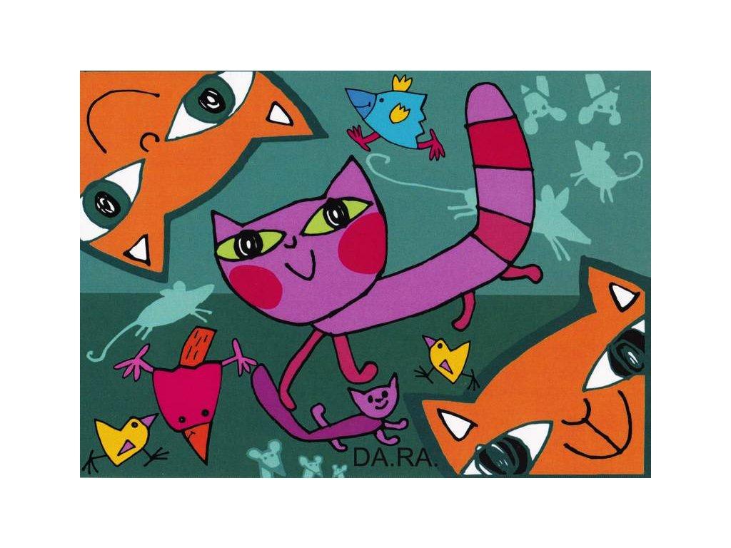 Pohlednice kočičky 2