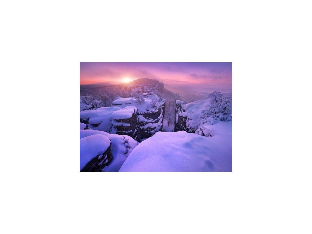 Pohlednice Ráno na Zámeckém vrchu