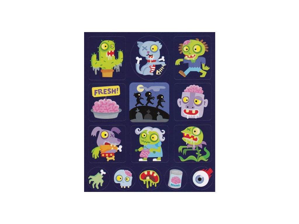 Samolepky Zombie