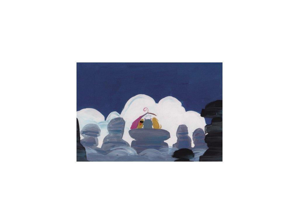 Pohlednice Vzhůru do oblak 13