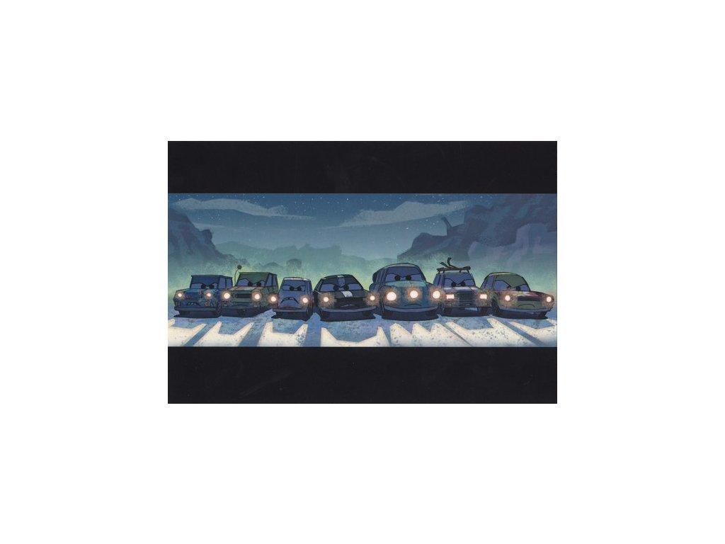 Pohlednice CARS 16