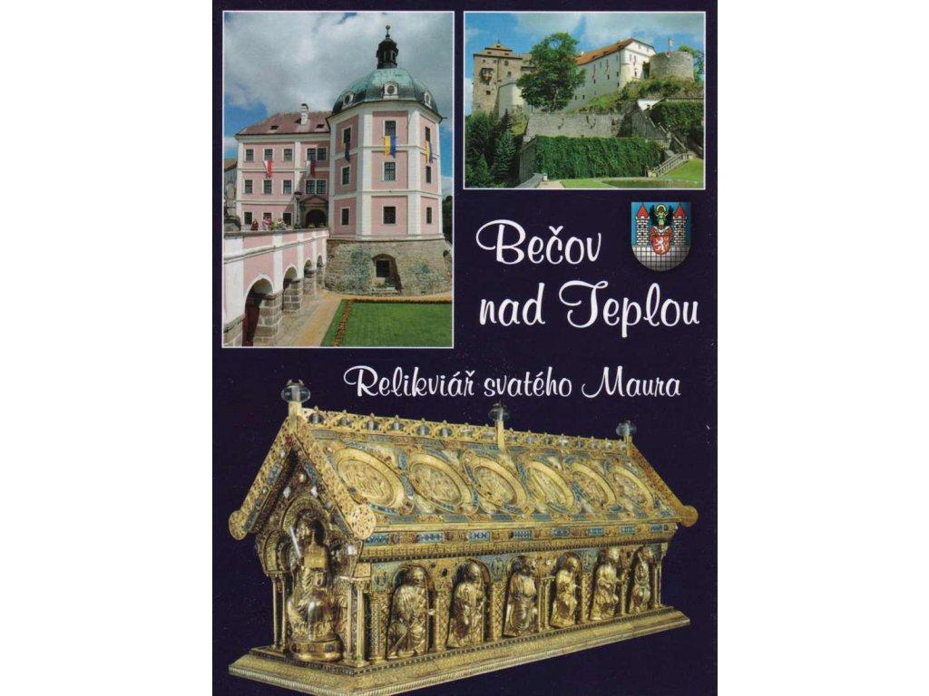 Pohlednice Bečov nad Teplou - Relikviář sv. Maura
