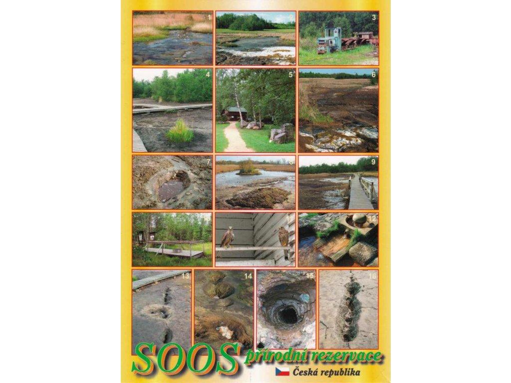 Pohlednice SOOS - přírodní rezervace 3