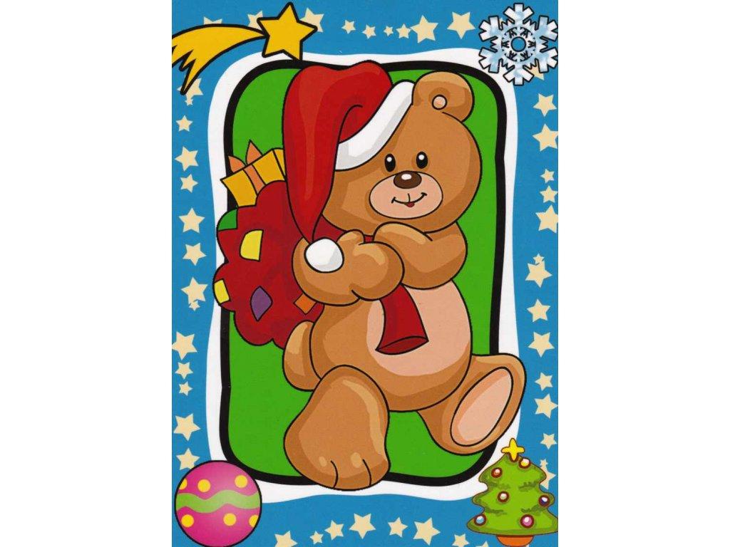 Vánoční pohlednice dětská 2