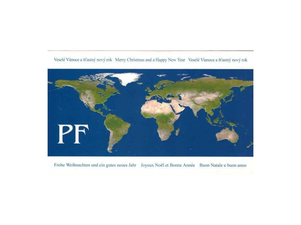Přání PF s obálkou