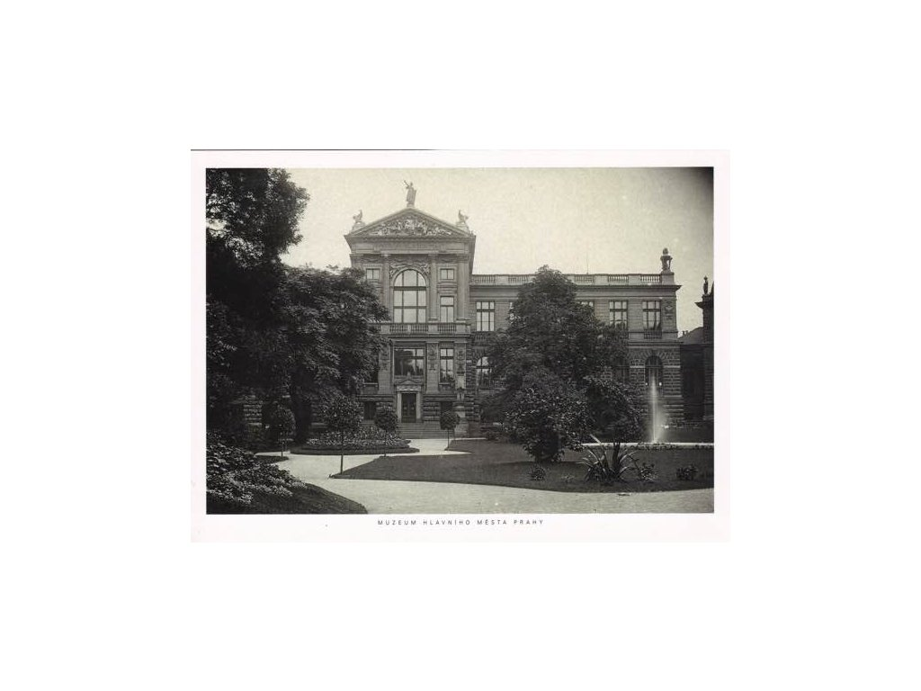 Pohlednice Muzeum Praha