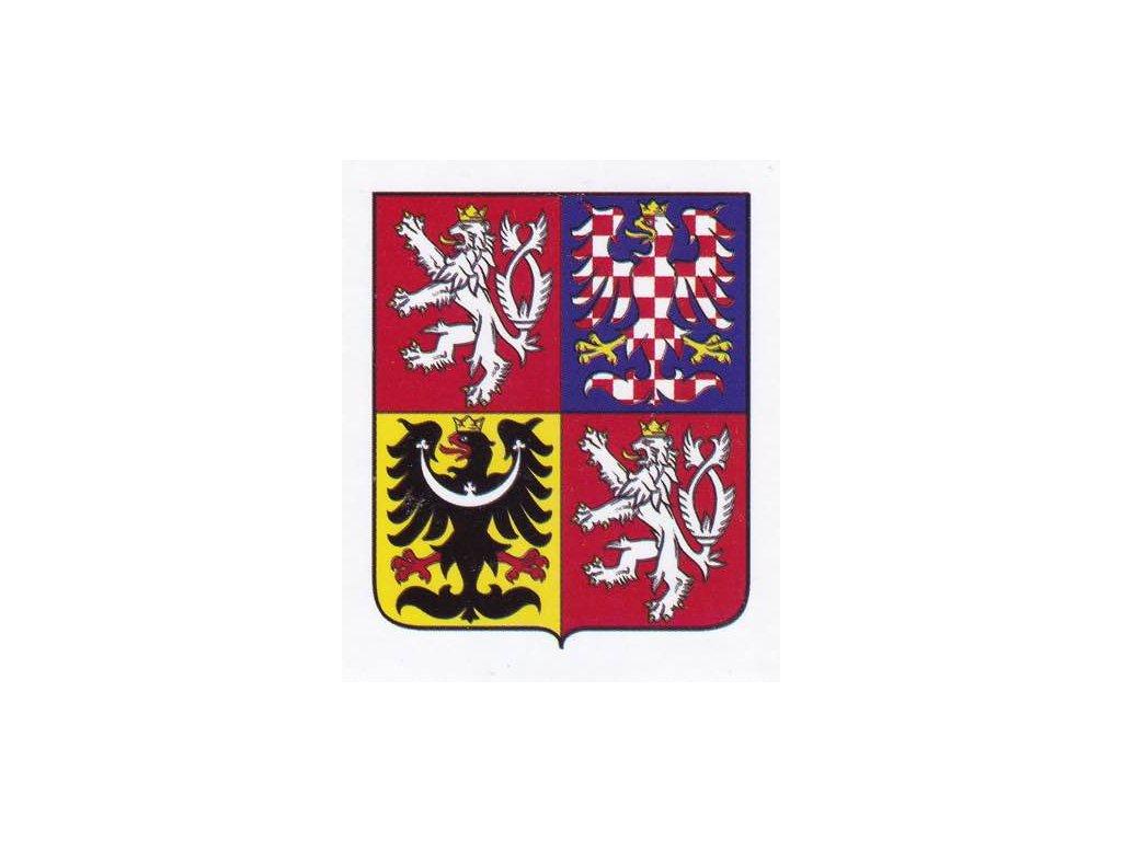 Samolepka znak ČR