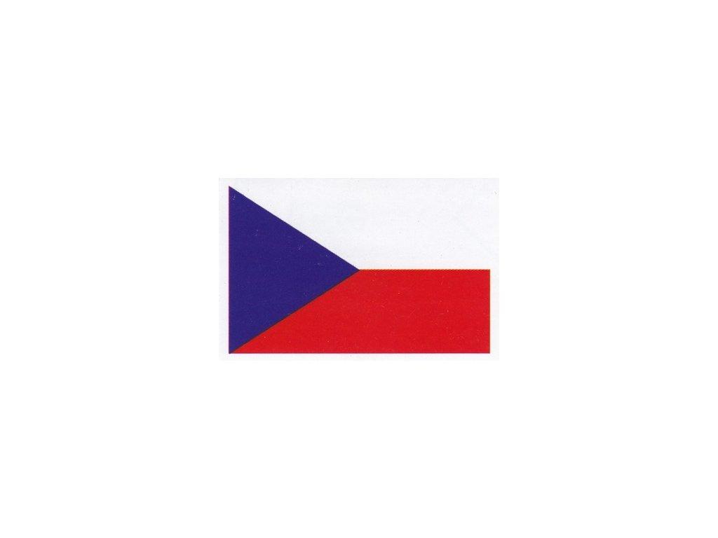 Samolepka vlajka ČR