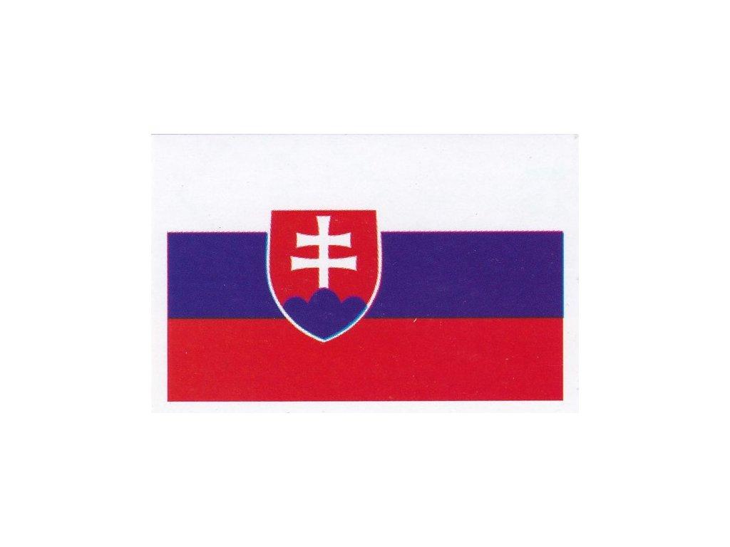 Samolepka vlajka SR
