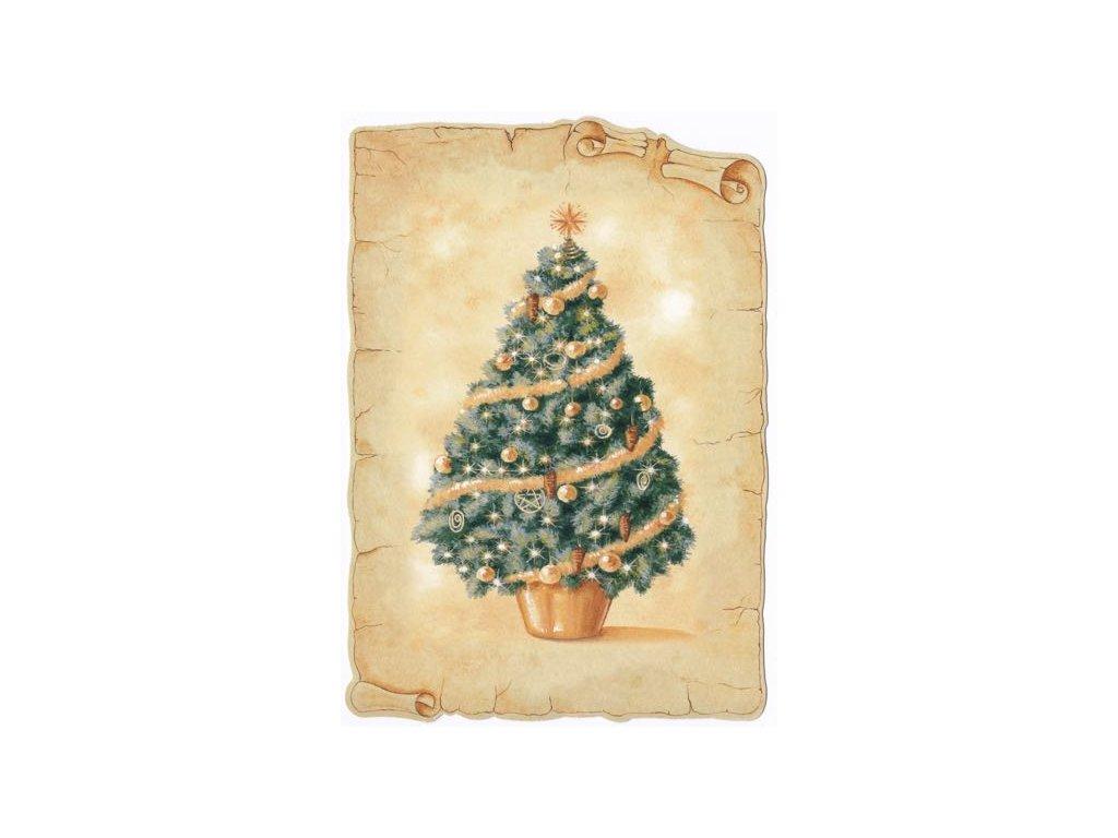 Pohlednice Vánoční stromeček