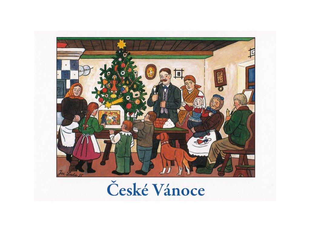 Vánoční pohlednice Josef Lada 11