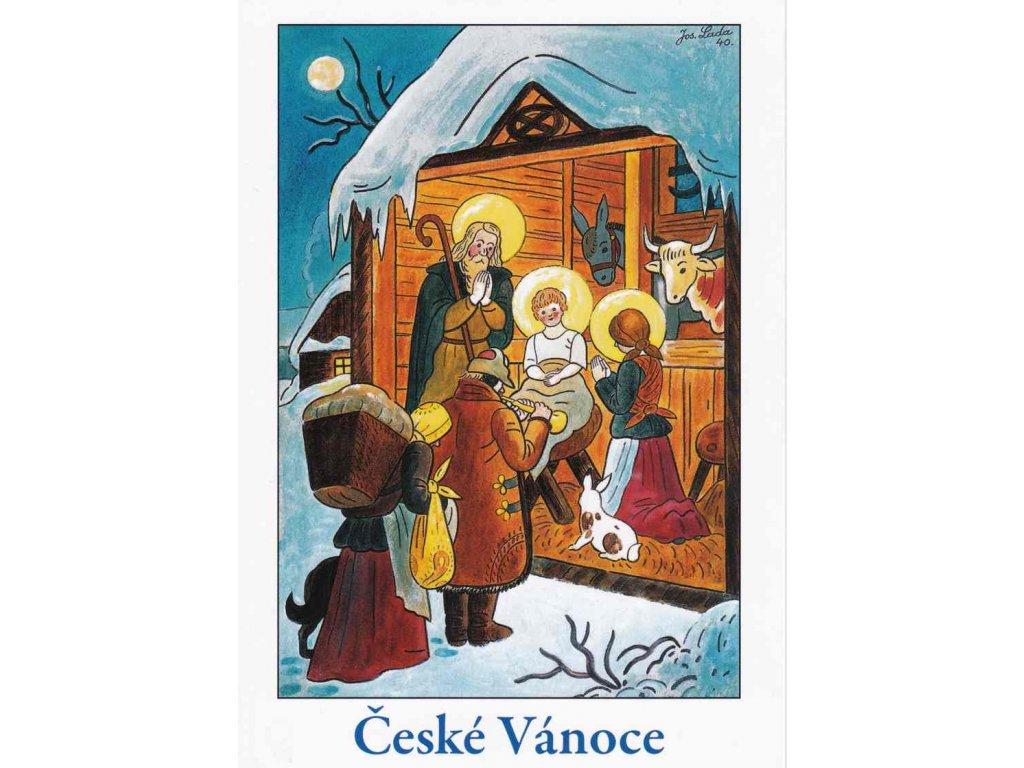 Vánoční pohlednice Josef Lada 12