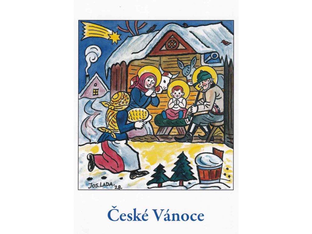 Vánoční pohlednice Josef Lada 18