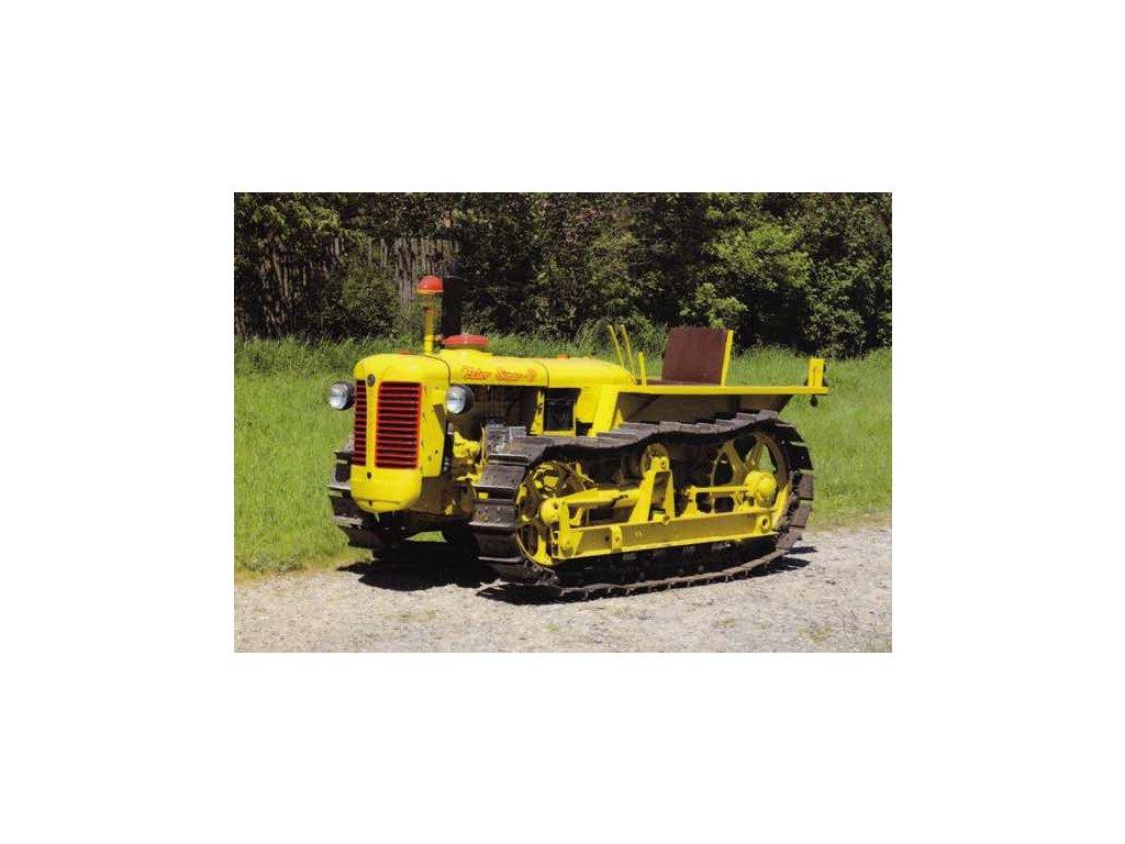 Pohlednice Traktor Zetor Super P