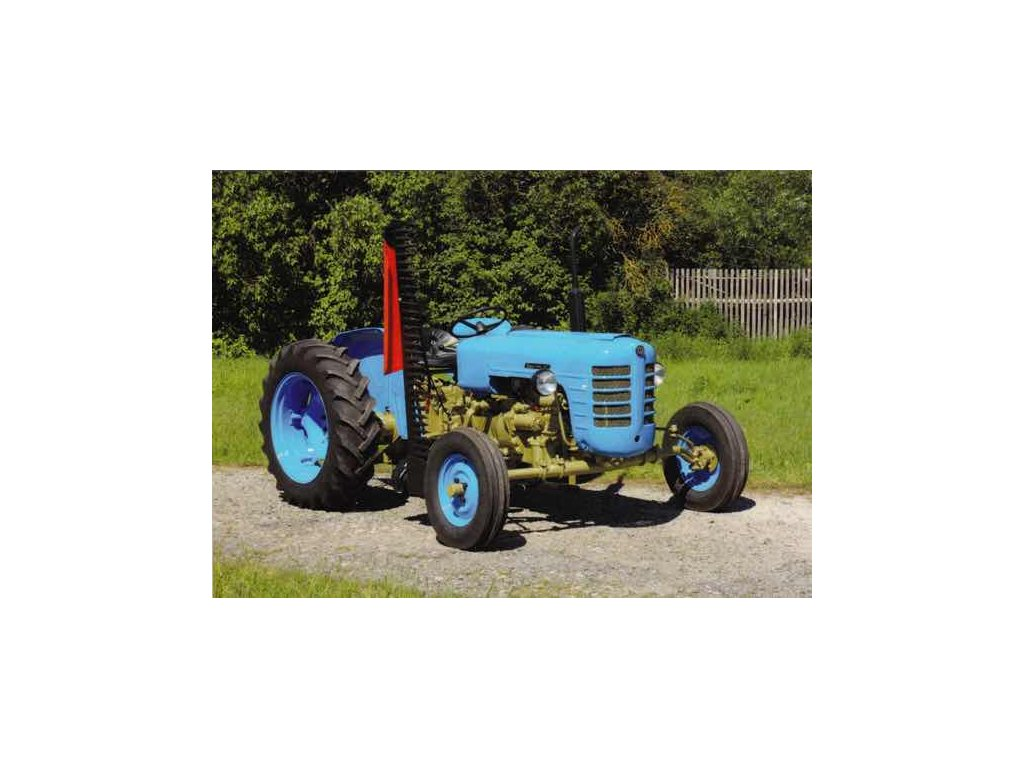 Pohlednice Traktor Zetor 3017