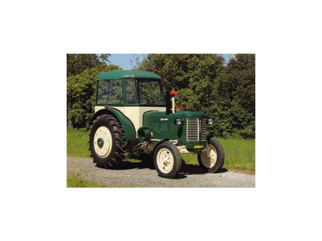 Pohlednice Traktor Zetor Super